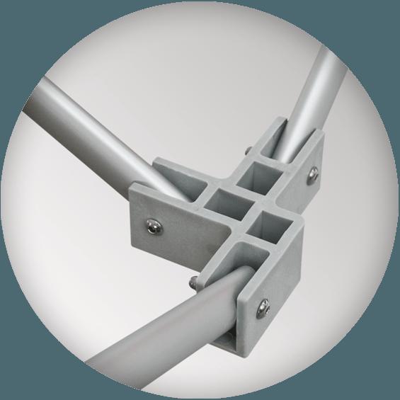 Стекловолокно для обеспечения максимальной устойчивости шатра 3х3
