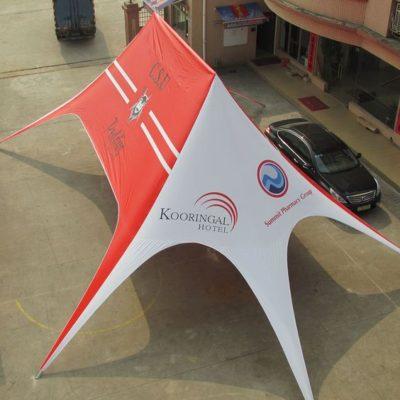 шатер звезда 16х21м.