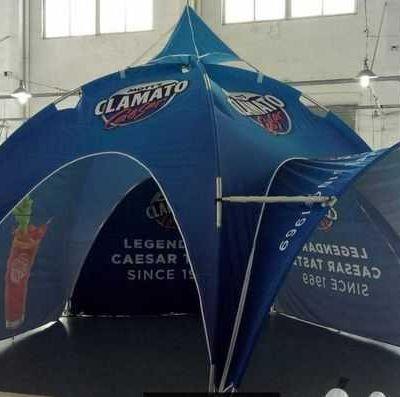 5х5м шатер арочного типа
