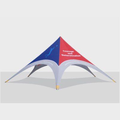 шатер звезда 14м.