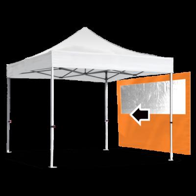 Стенка с окнами для шатра Expotent