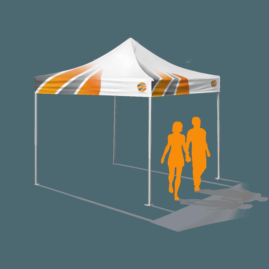 брендирование шатра 3х3