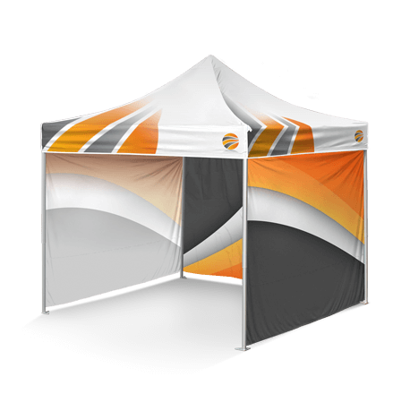 шатер с брендированием крыши и стенок