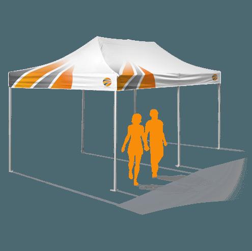 брендирование шатра 3х6