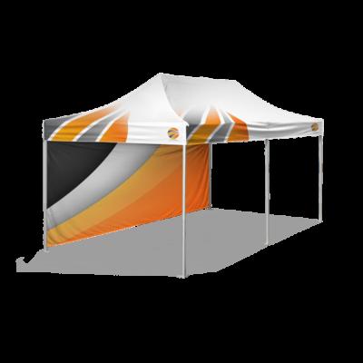 шатер брендированный 3х6 и бренд стенка